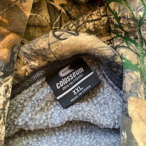 Colosseum Sweaters - South Carolina Gamecocks Colosseum full zip hoodie